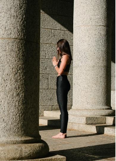 praying pose